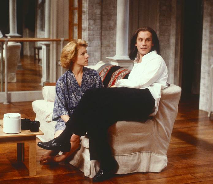 'Burn This' Play performed at Hampstead Theatre, London, UK 1990