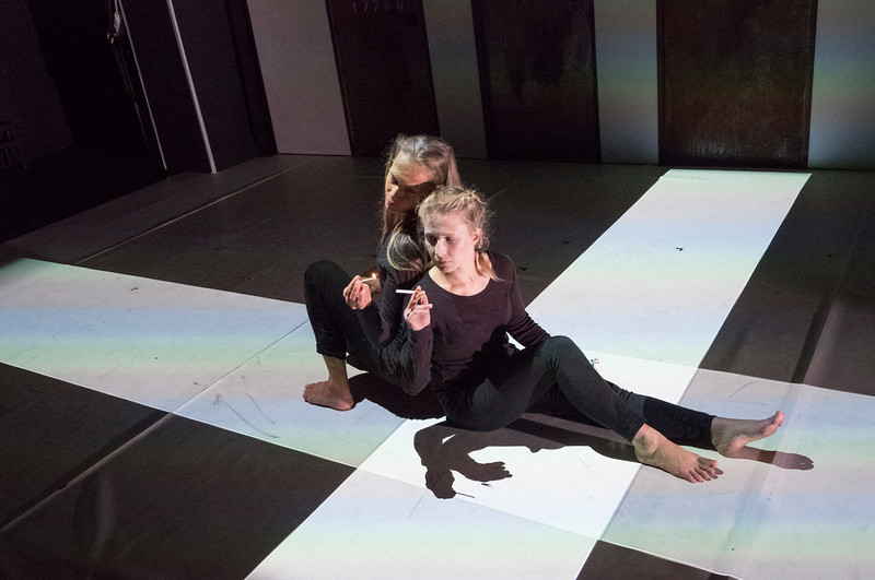 'Burning Doors' PLay performed by Belarus Free Theatre at the Soho Theatre, London, UK