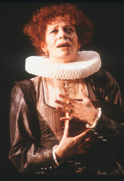 'Bussy D'Ambois' Play performed at the Old Vic Theatre, London, UK 1988