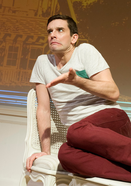 'Buyer and Cellar' Play performed at the Menier Chocolate Factory, London, UK