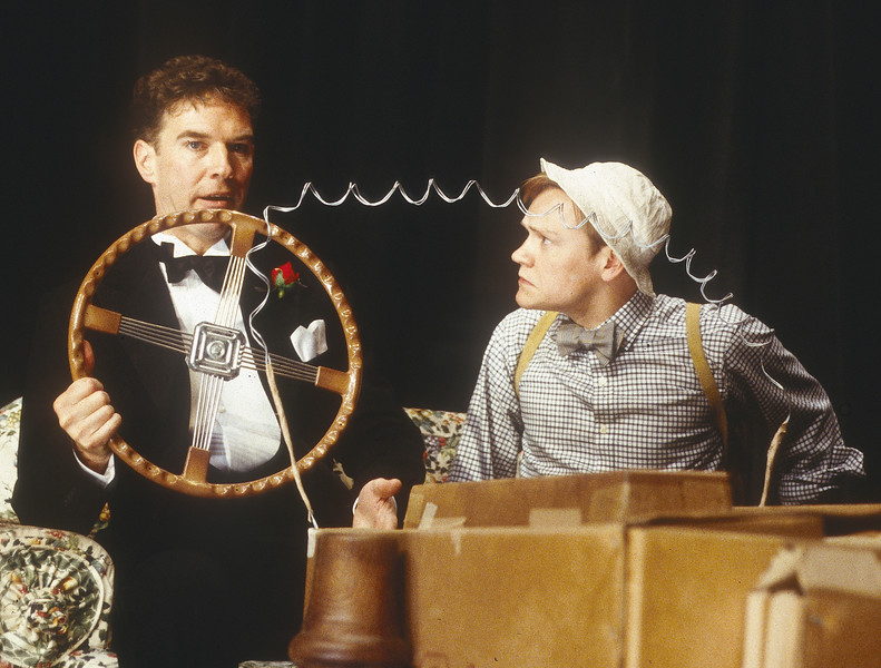'By Jeeves' Play performed in the Duke of York's Theatre, London, UK 1996