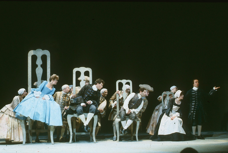 'Candide' Play performed in the Old Vic Theatre, London, UK 1989