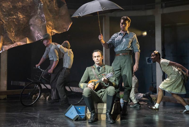 'Captain Corelli's Mandolin' Play performed at the Rose Theatre, Kingston, UK