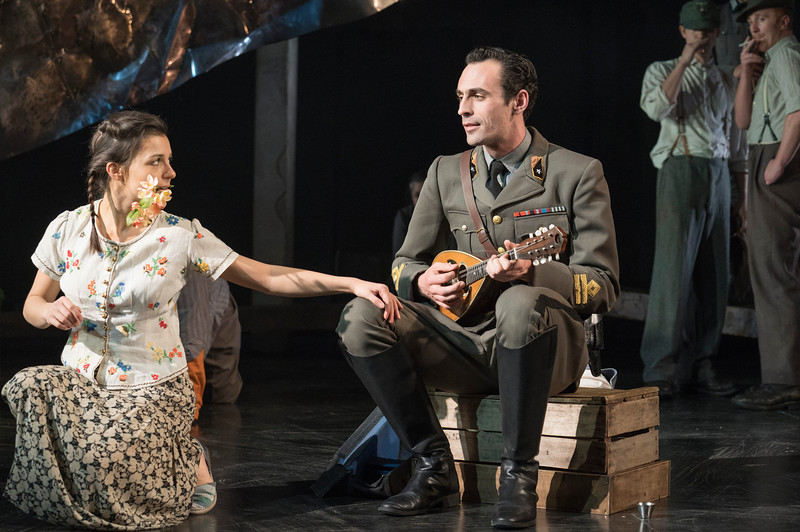 'Captain Corelli's Mandolin' Play performed at the Rose Theatre, Kingston, UK