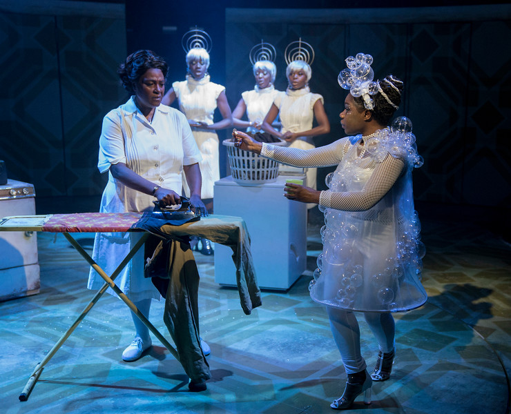 'Caroline, or Change' Play performed at Hampstead Theatre, London, UK