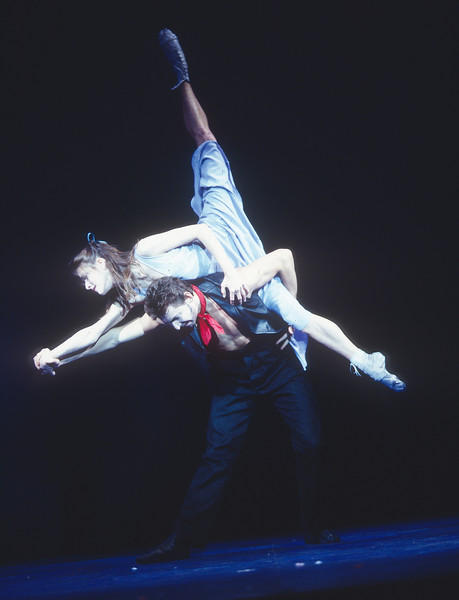 'Carousel' Musical performed in the Olivier Theatre, National Theatre, London, UK 1993