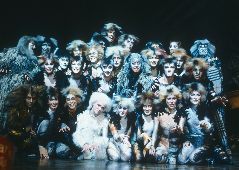 'Cats' Musical performed at the New London Theatre, London, UK 1989