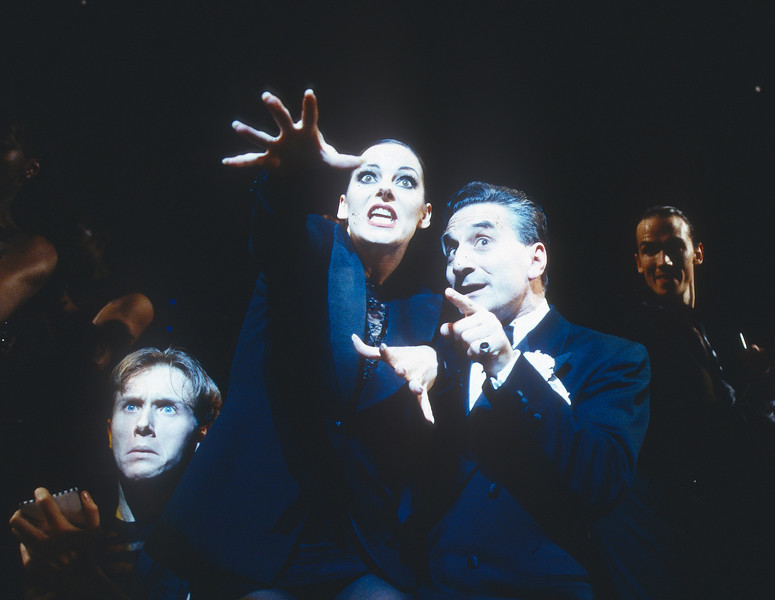 'Chicago' Musical performed at the Adelphi Theatre, London, UK 1997
