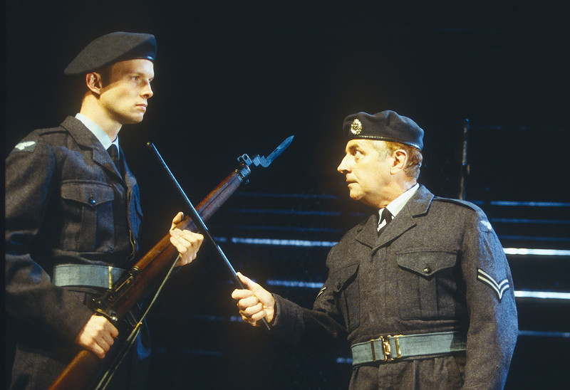 'Chips with Everything' Play performed in the Lyttelton Theatre, National Theatre, London, UK 1997