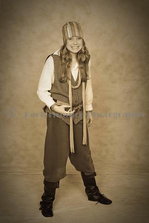 Peter Pan-Formal Portraits-Sepia