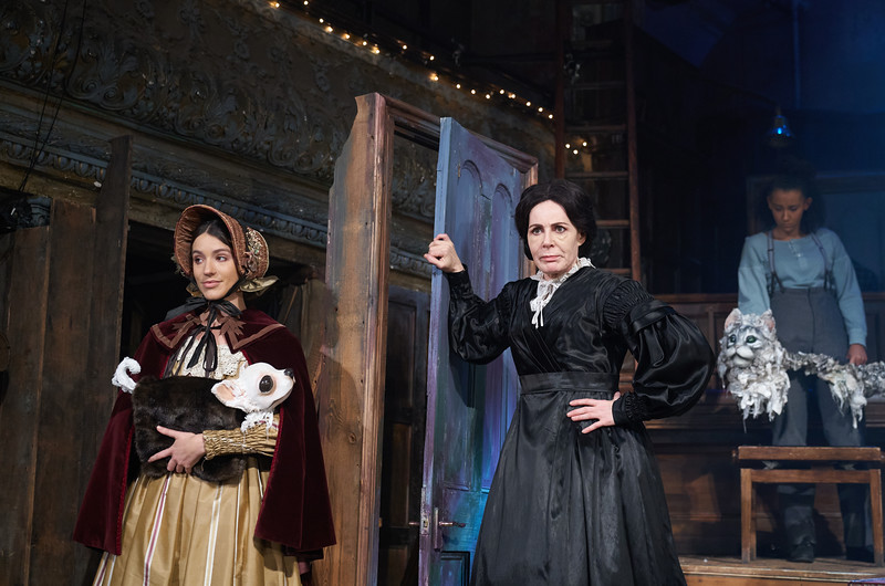 'Christmas Carol' Play performed at Wilton's Music Hall, London, UK