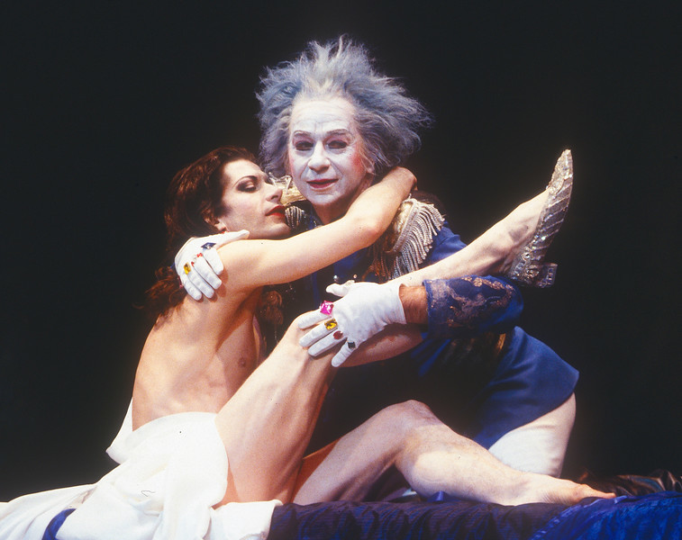 'Cinderella' Performance by Lindsay Kemp Company at Sadler's Wells Theatre, London, UK 1995