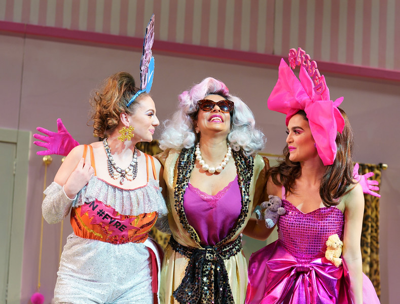 'Cinderella' Pantomime performed at the Lyric Theatre, Hammersmith, London, UK