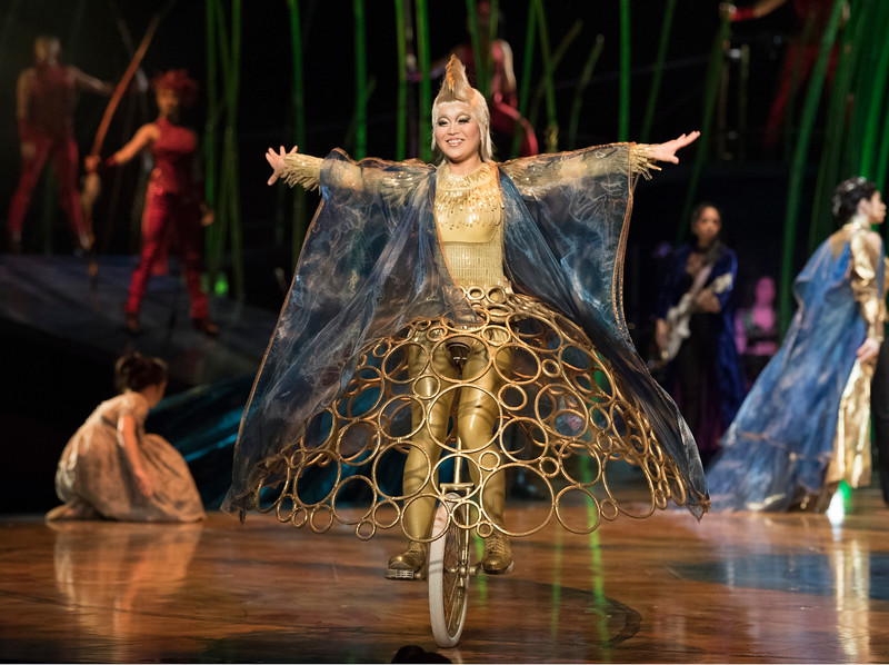 'Amaluna' Performed by Cirque du Soleil at the Royal Albert Hall, London, UK