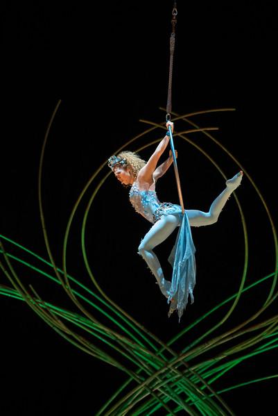 'Amaluna' Performed by Cirque du Soleil at the Royal Albert Hall, London, UK