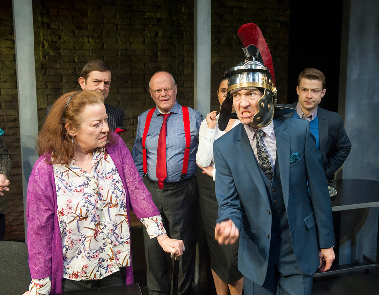 'Clarion' Play by Mark Jagasia performed at the Arcola Theatre