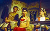 'Cleo, Camping, Emmanuelle and Dick' Play performed in the Lyttleton Theatre, National Theatre, London, UK 1998