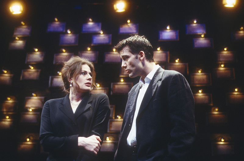 'Closer' Play performed in the Cottesloe Theatre, National Theatre, London, UK 1997