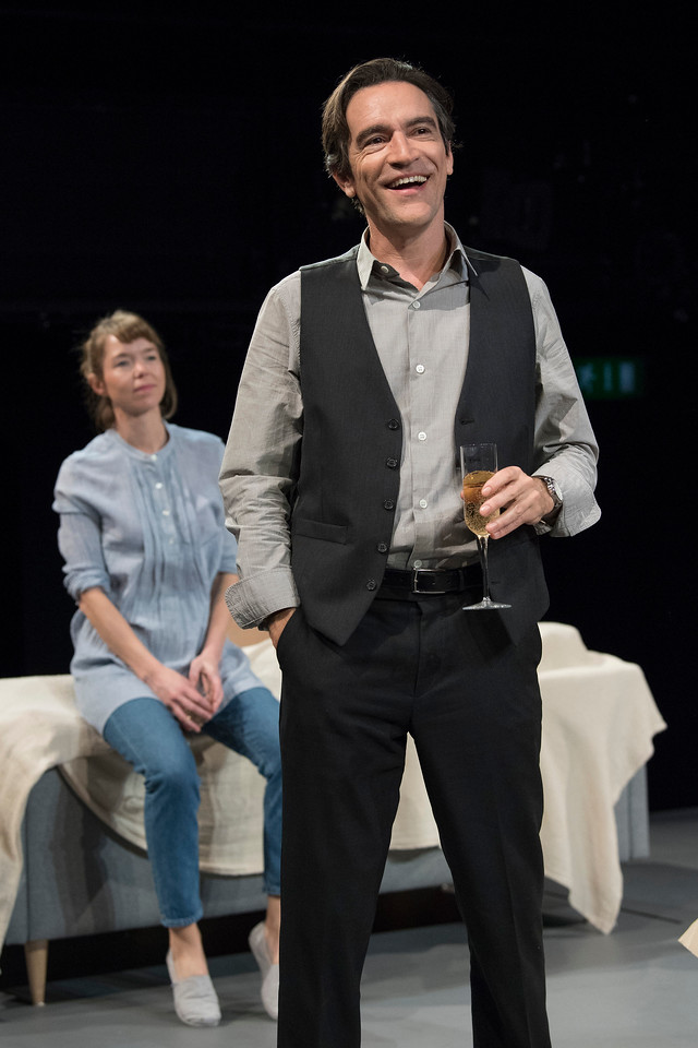 'Consent' New Play by Nina Raine performed in the Dorfmann Theatre at the Royal National Theatre, London, UK