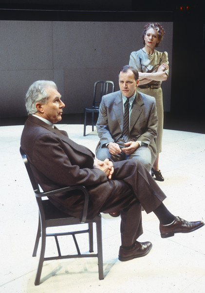 'Copengagen' Play performed in the Cottesloe Theatre, National Theatre, London, UK 1998