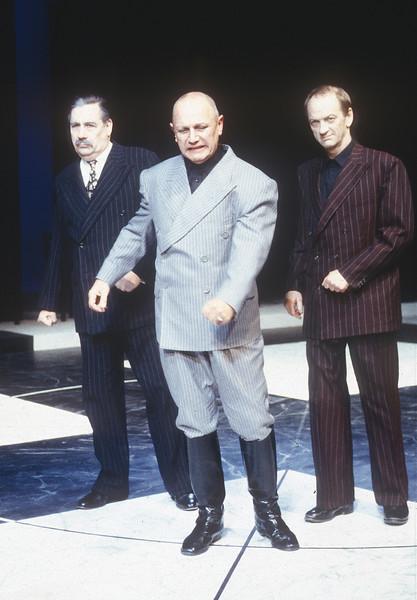 'Coriolanus' Play performed at the Mermaid Theatre, London, UK 1996
