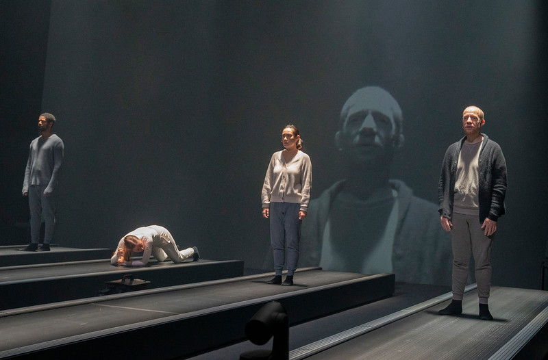 'Crave' Plasy by Sarah Kane peformed at the Chicheser Festival Theatre, West Sussex, UK