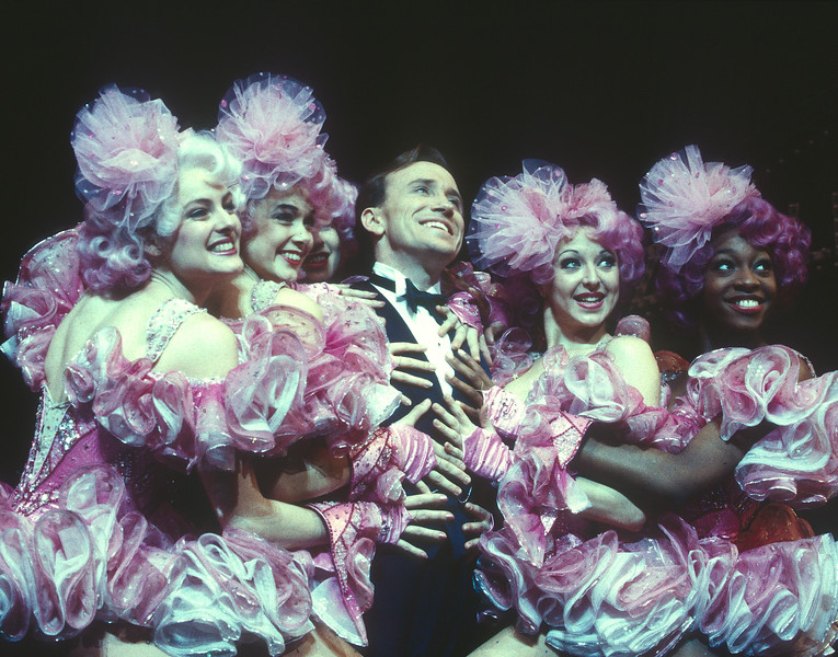'Crazy for You' Musical performed in the Prince Edward Theatre, London, UK 1993