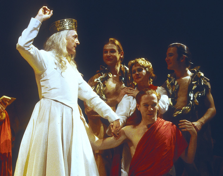 'Cymbeline' Play performed by the Royal Shakespeare Company. UK 1997