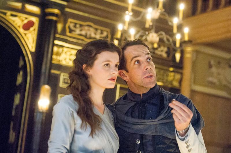 'Cymbeline' performed in the Sam Wanamaker Playhouse at Shakespeare's Globe Theatre, London, UK
