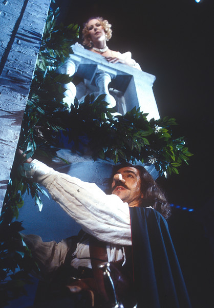 'Cyrano de Begerac' Play performed in the Theatre Royal. Haymarket, London, UK 1993