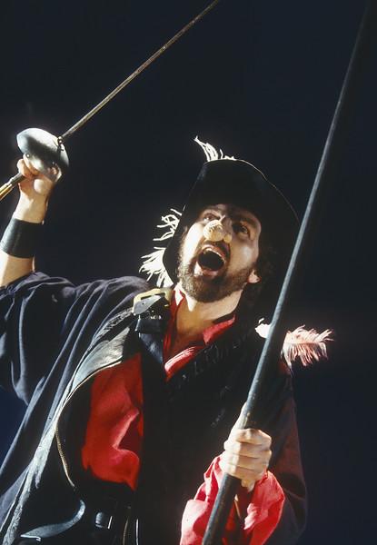 'Cyrano de Begerac' Play performed at the Almeida Theatre, London, UK 1996