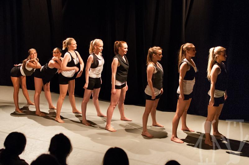 Terpsichore Dansekompani på Det Akademiske Kvarter, Bergen, Mai 2012