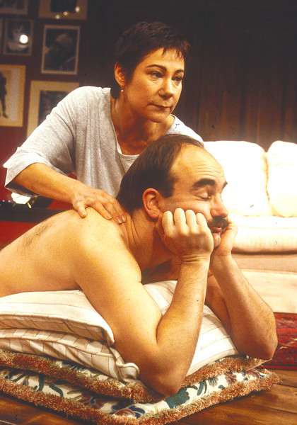 'Dead Funny' Play performed at Hampstead Theatre, London, UK 1994