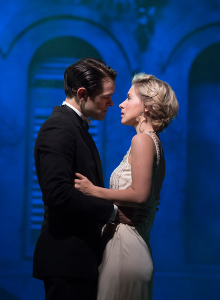 'Death Takes a Holiday' Musical performed at the Charing Cross Theatre, London, UK