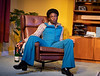 Death of a Black Man. Play performed at Hampstead Theatre London, UK