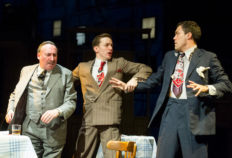 'Death of a Salesman' Play performed by the Royal Shakespeare Company at Stratford upon Avon, UK