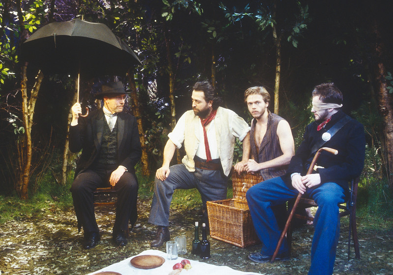 'Democracy' Play performed at the Bush Theatre, London, UK 1994
