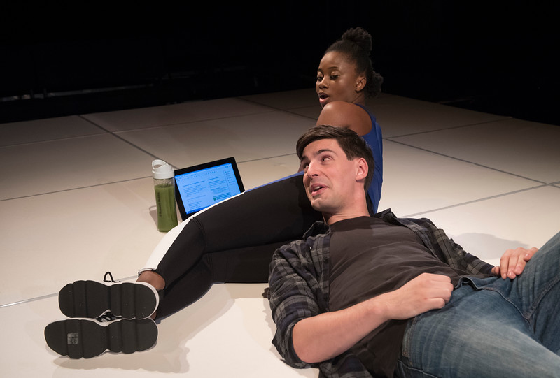 'Deny Deny Deny' Play by Jonathan Maitland performed at The Park Theatre, London, UK