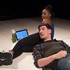 'Deny Deny Deny' Play by Jonathan Maitland performed at The Park Theatre, London, UK