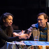 'Describe the Night' Play performed at Hampstead Theatre, London, UK