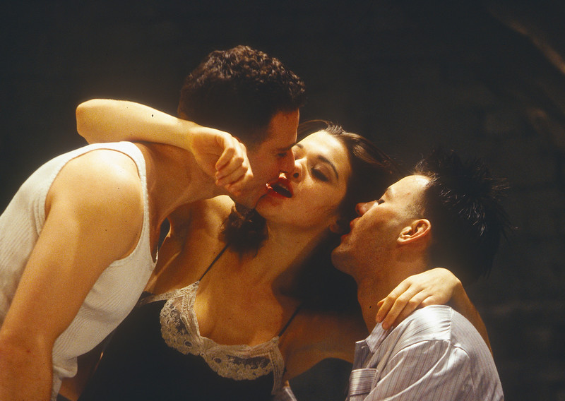 'Design for Living' Play performed at the Gielgud Theatre, London, UK 1995