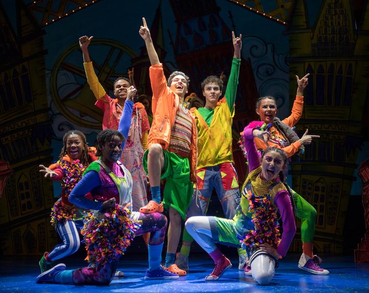 'Dick Whittington' Pantomime performed at the Lyric Theatre, Hammersmith, London,UK