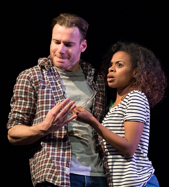 'Dirty Great Love Story' Play performed at the Arts Theatre, London, UK