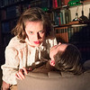 'Dracula' Play performed by Creation Theatre Company at The London Library, London, UK
