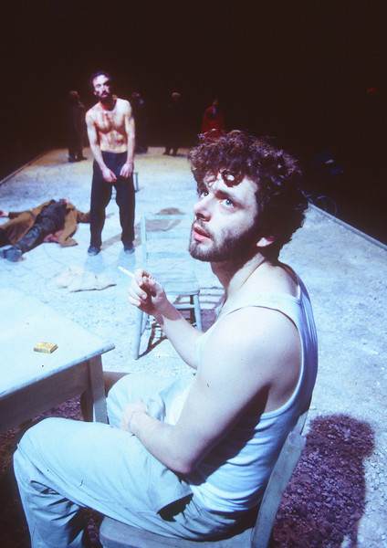 'Ends of the Earth' Play performed at the Cottesloe Theatre, National Theatre, London UK 1996