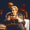'Enemy of the People' Play performed in the Olivier Theatre at the Royal National Theatre, London, UK. 1997