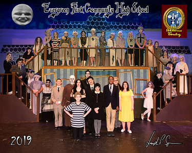 EPCHS 2019 Addams Family Cast, Crew & Band picture 02-07