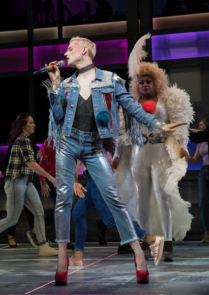 'Everybody's Talking About Jamie' Musical performed at the Apollo Theatre, London, UK