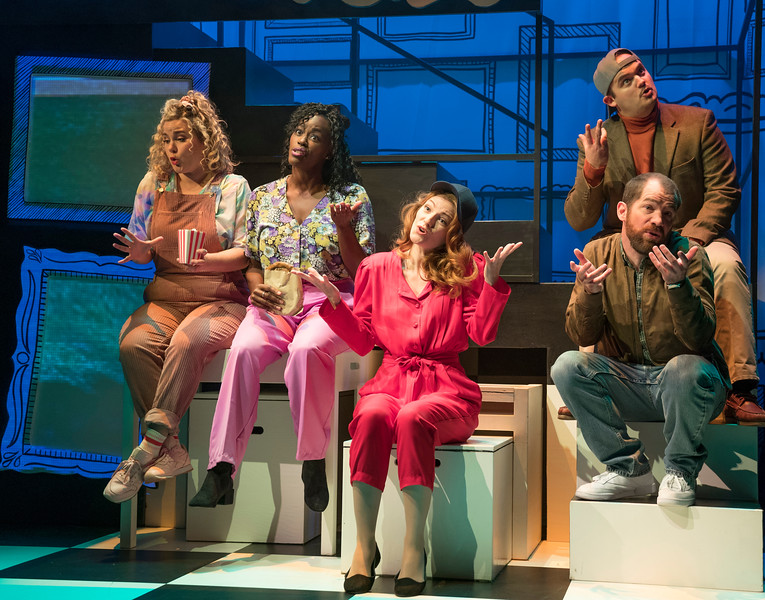'Falsettos' Musical performed at the Other Palace Theatre, London, UK