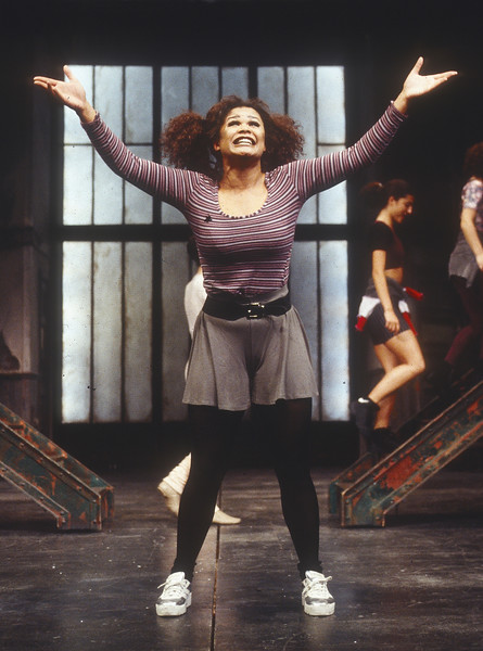 'Fame' Musical performed at the Cambridge Theatre, London, UK 1995